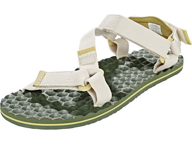 The North Face Base Camp Switchback Sandals Damen vintage white/olivenite yellow